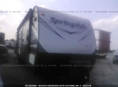 Salvage 2017 KEYSTONE SPRNG311RE for sale
