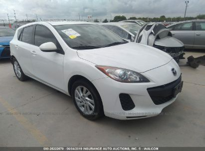 Salvage 2012 MAZDA 3 for sale