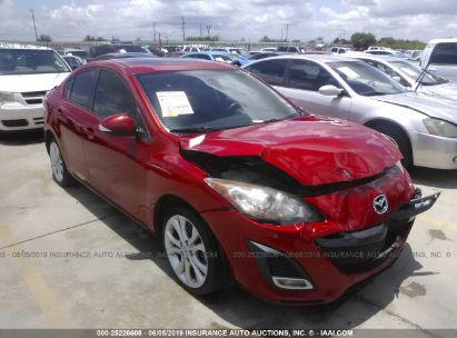 Salvage 2010 MAZDA 3 for sale