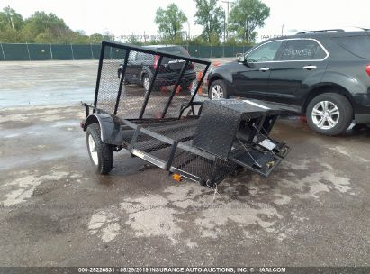 Salvage 2017 CARRY-ON 5X8SP1090202 for sale