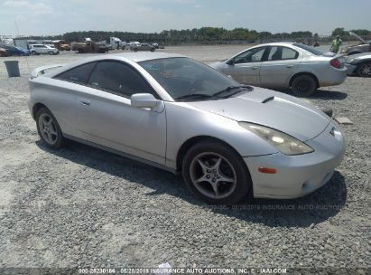 Salvage 2000 TOYOTA CELICA for sale