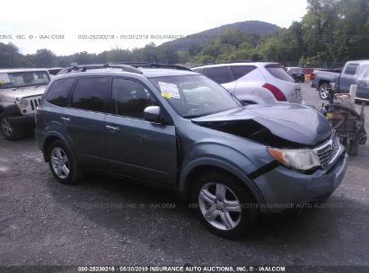 Salvage 2009 SUBARU FORESTER for sale