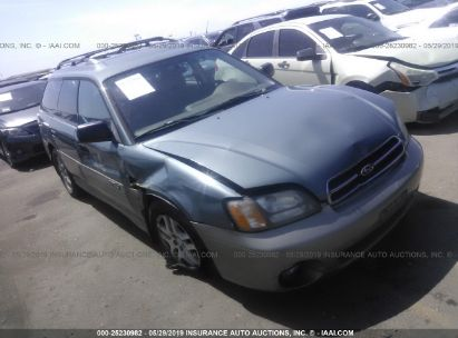 Salvage 2002 SUBARU LEGACY for sale