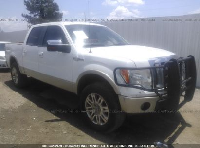 Salvage 2009 FORD F150 for sale