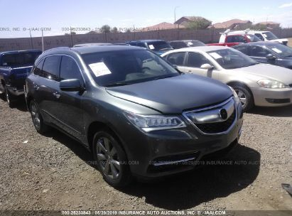 Salvage 2014 ACURA MDX for sale