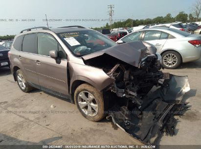 Salvage 2014 SUBARU FORESTER for sale