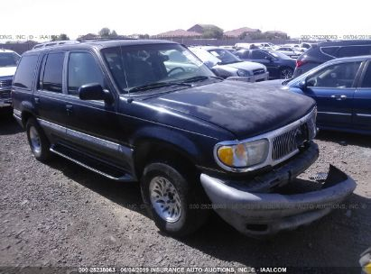 Salvage 1998 MERCURY MOUNTAINEER for sale
