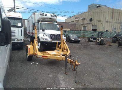 Salvage 2007 JTC REEL TRAILER for sale