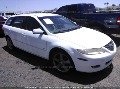 Salvage 2004 MAZDA 6 for sale