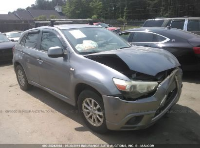 Salvage 2011 MITSUBISHI OUTLANDER SPORT for sale