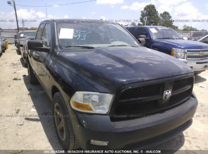 Salvage 2012 DODGE RAM 1500 for sale