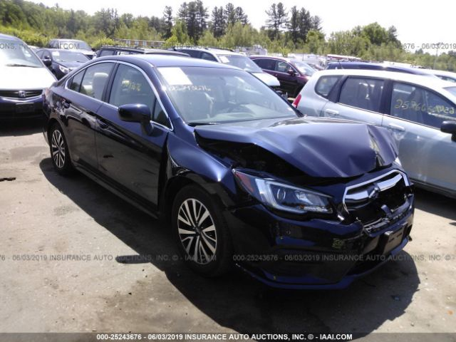 Salvage Title 2018 Subaru Legacy 2 5L For Sale in Shirley MA