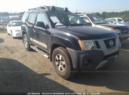 Salvage 2009 NISSAN XTERRA for sale