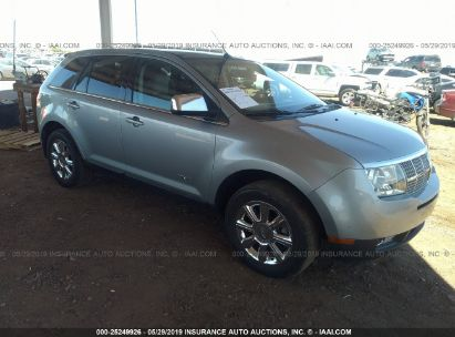 Salvage 2007 LINCOLN MKX for sale