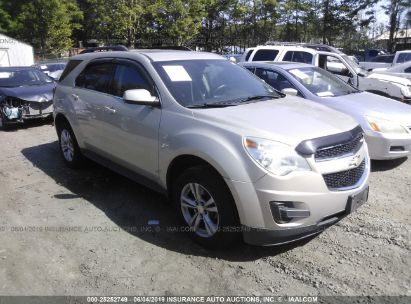 Salvage 2010 CHEVROLET EQUINOX for sale