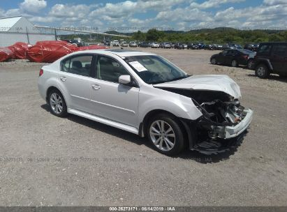 Salvage 2013 SUBARU LEGACY for sale
