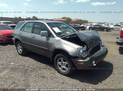 Salvage 2002 LEXUS RX for sale