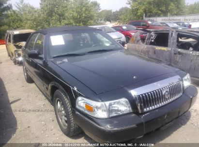 Salvage 2007 MERCURY GRAND MARQUIS for sale