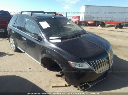 Salvage 2011 LINCOLN MKX for sale