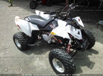 Salvage 2007 POLARIS OUTLAW for sale