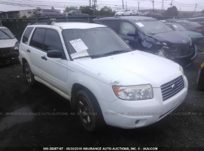 Salvage 2007 SUBARU FORESTER for sale