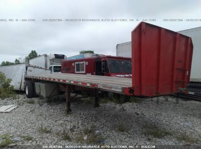 Salvage 1997 FONTAINE TRAILER CO FLATBED for sale