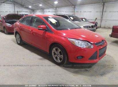 Salvage 2014 FORD FOCUS for sale