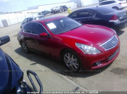 Salvage 2012 INFINITI G37 for sale