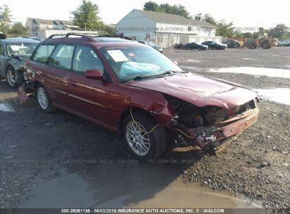 Salvage 2004 SUBARU LEGACY for sale
