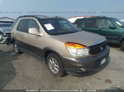 Salvage 2003 BUICK RENDEZVOUS for sale