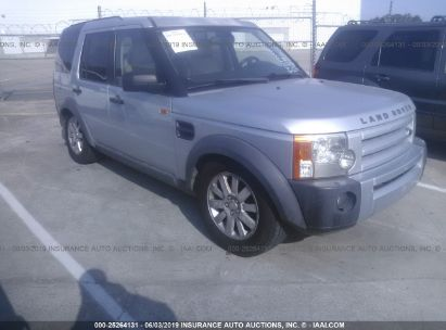 Salvage 2006 LAND ROVER LR3 for sale