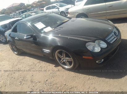 Salvage 2008 MERCEDES-BENZ SL for sale