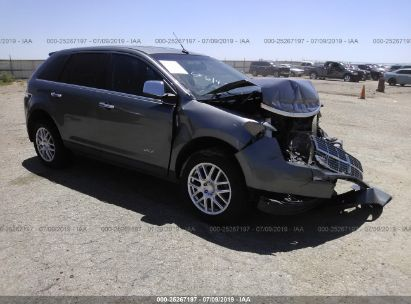 Salvage 2010 LINCOLN MKX for sale