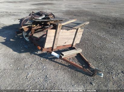 Salvage 2002 HOMEMADE TRAILER for sale