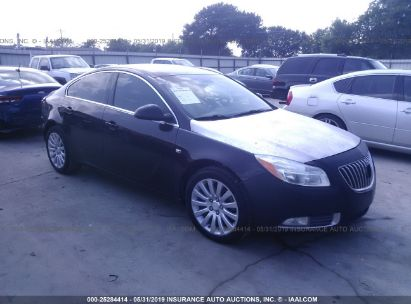 Salvage 2011 BUICK REGAL for sale