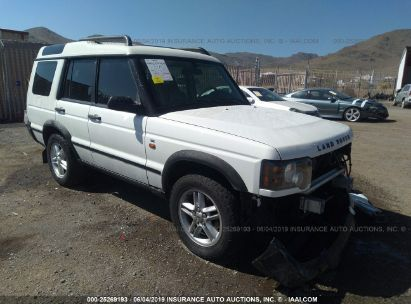 Salvage 2004 LAND ROVER DISCOVERY II for sale