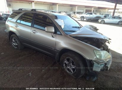Salvage 2003 LEXUS RX for sale