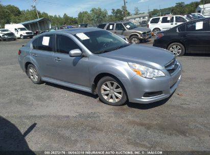 Salvage 2012 SUBARU LEGACY for sale