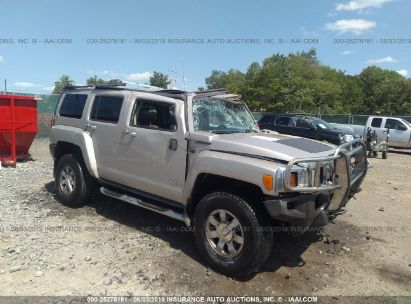 Salvage 2006 HUMMER H3 for sale