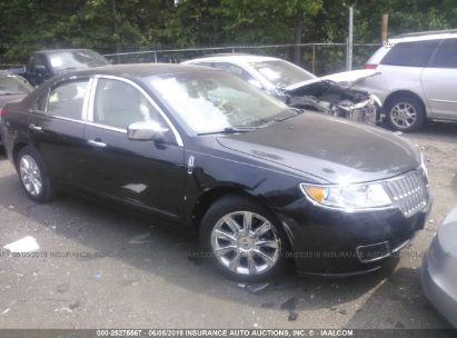 Salvage 2012 LINCOLN MKZ for sale