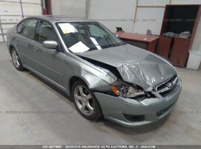 Salvage 2009 SUBARU LEGACY for sale