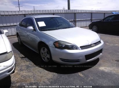 Salvage 2010 CHEVROLET IMPALA for sale