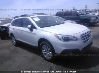 Salvage 2015 SUBARU OUTBACK for sale