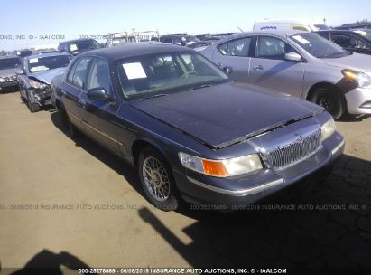 Salvage 1998 MERCURY GRAND MARQUIS for sale