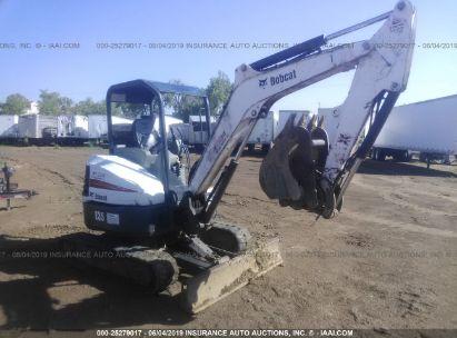 Salvage 2014 BOBCAT E35 for sale