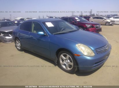 Salvage 2004 INFINITI G35 for sale