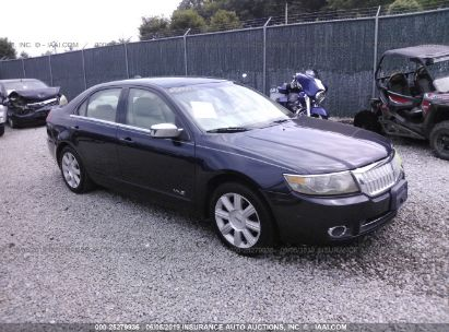 Salvage 2009 LINCOLN MKZ for sale