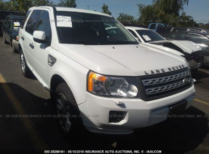 Salvage 2012 LAND ROVER LR2 for sale