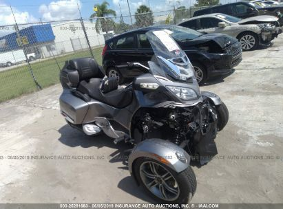 Salvage 2012 CAN-AM SPYDER ROADSTER for sale