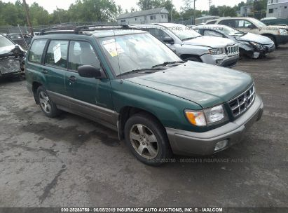 Salvage 1998 SUBARU FORESTER for sale